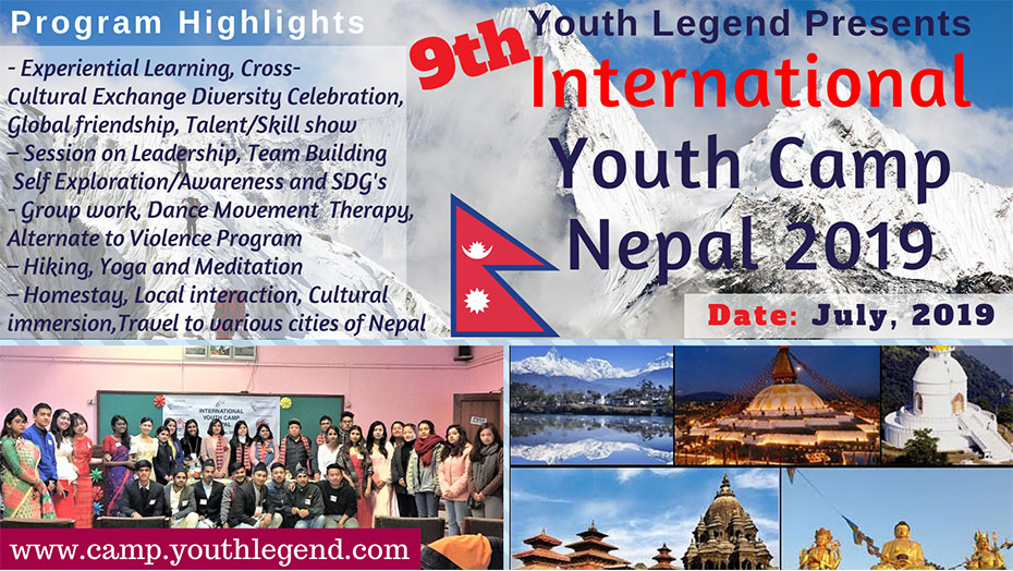 International Youth Camp In Nepal - Youth Legend Camp